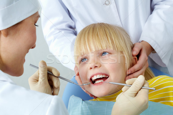 Dental checkup Stock photo © pressmaster