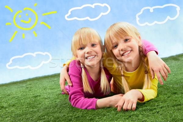 Twins  Stock photo © pressmaster
