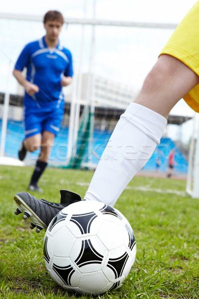 Playing soccer Stock photo © pressmaster