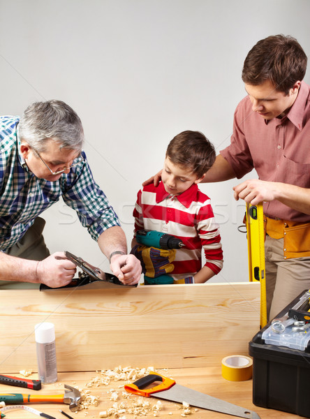 Carpenters Stock photo © pressmaster