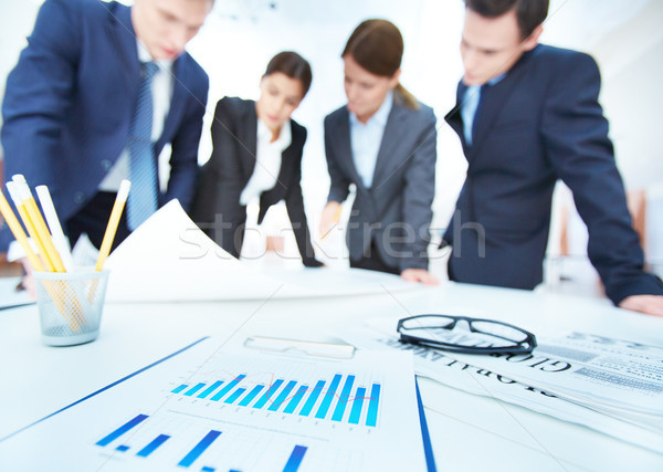 Stock photo: Business objects