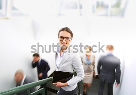 Elegant businesswoman Stock photo © pressmaster