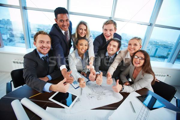 Happy co-workers Stock photo © pressmaster