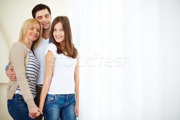 Family of three Stock photo © pressmaster