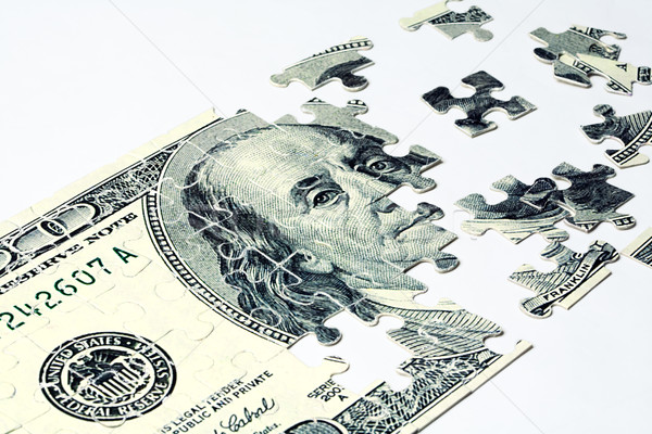 Dólar imagem negócio financiar trabalho sucesso Foto stock © pressmaster