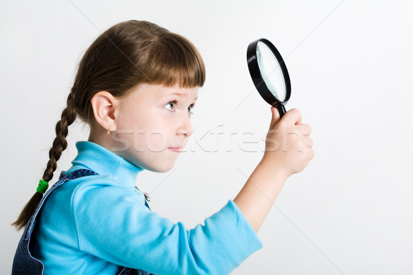 Little spy Stock photo © pressmaster