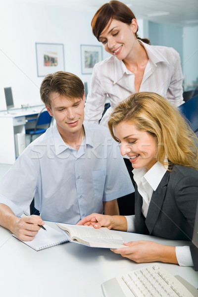 Discussing  a new curriculum Stock photo © pressmaster