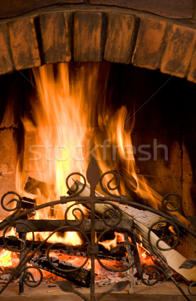 Stock photo: Flame