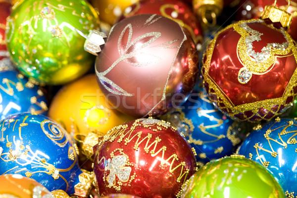 Stock photo: Toy balls