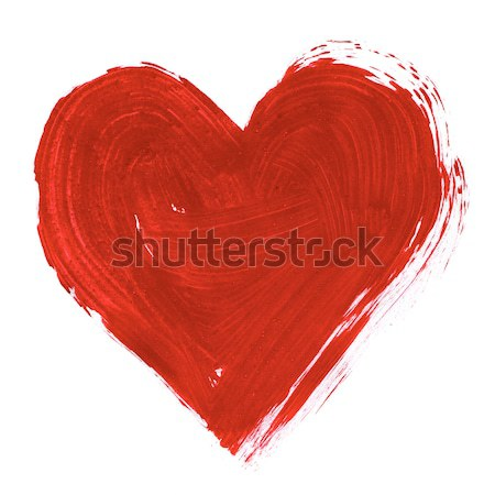 Painted heart Stock photo © pressmaster
