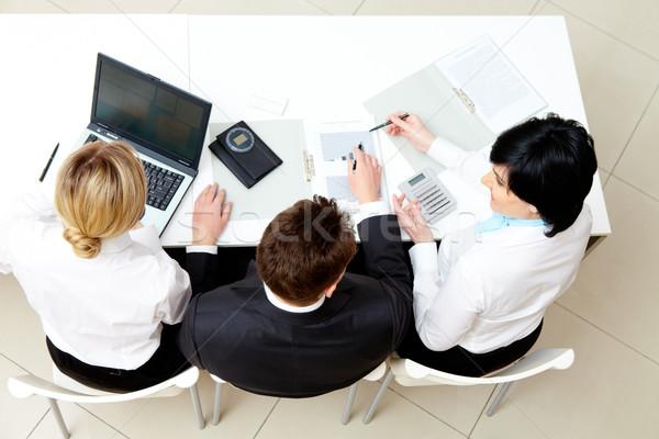 Work planning Stock photo © pressmaster