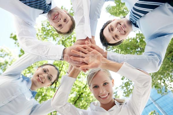 Fundo ver pessoas mãos Foto stock © pressmaster