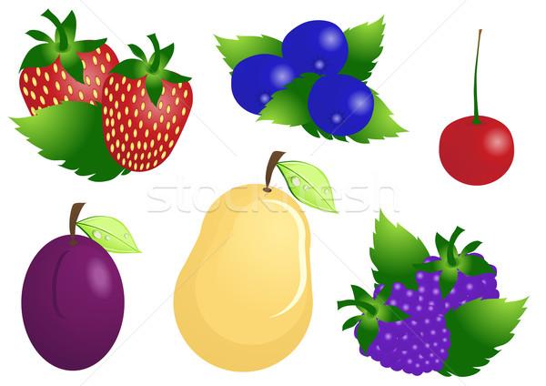 Stok fotoğraf: Olgun · meyve · karpuzu · doğa · sağlık · sanat
