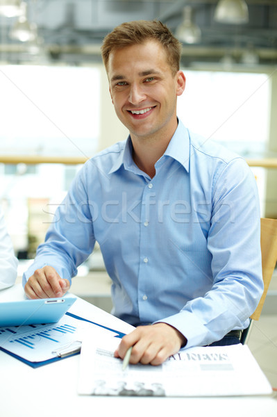 Masculine confidence Stock photo © pressmaster