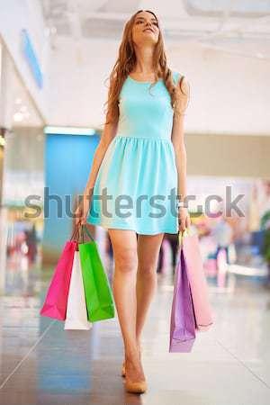 регулярный клиентов вертикальный портрет женщины Сток-фото © pressmaster
