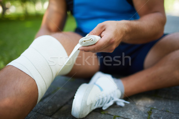 Sprain Stock photo © pressmaster
