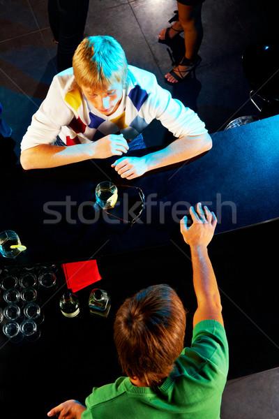 Image bar stand Photo stock © pressmaster