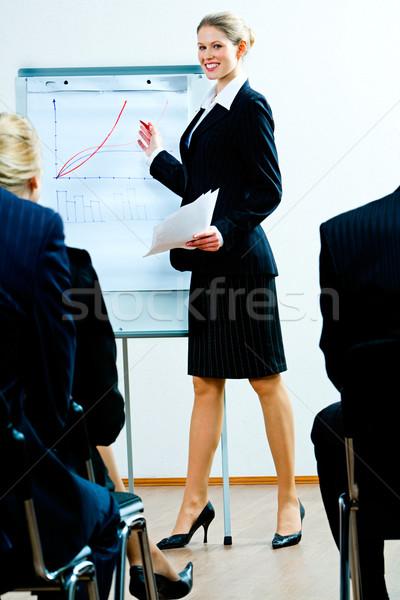Business training  Stock photo © pressmaster