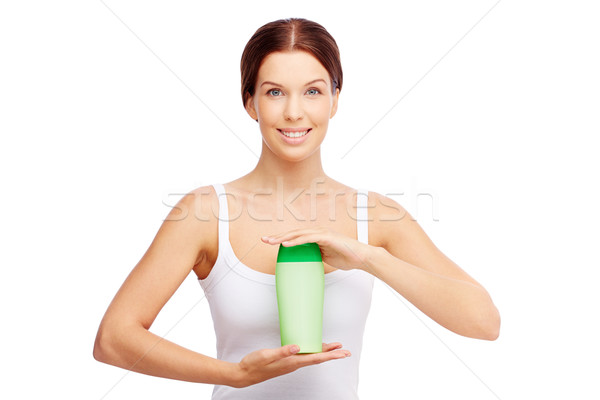 Supporting beauty Stock photo © pressmaster
