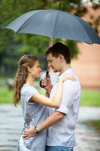 Love in the rain Stock photo © pressmaster