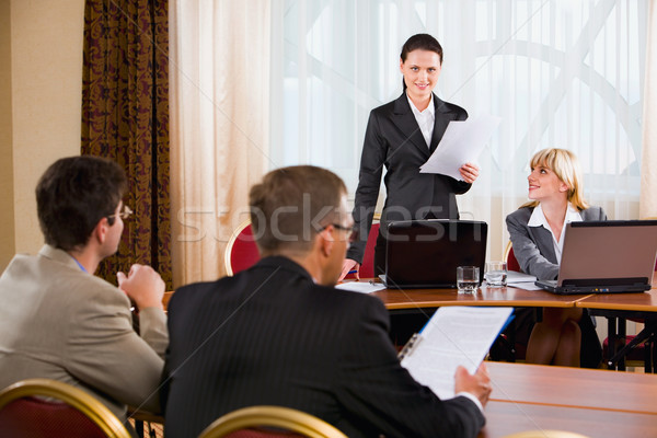 Business meeting Stock photo © pressmaster