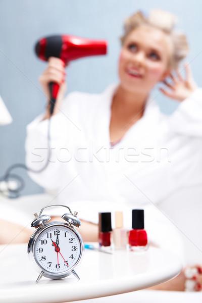 Alarm clock Stock photo © pressmaster
