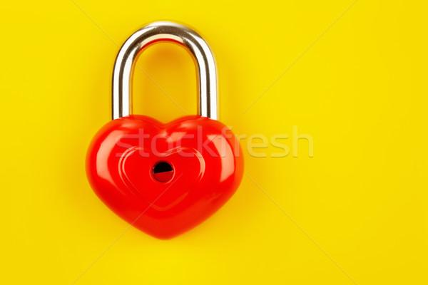 Red lock Stock photo © pressmaster