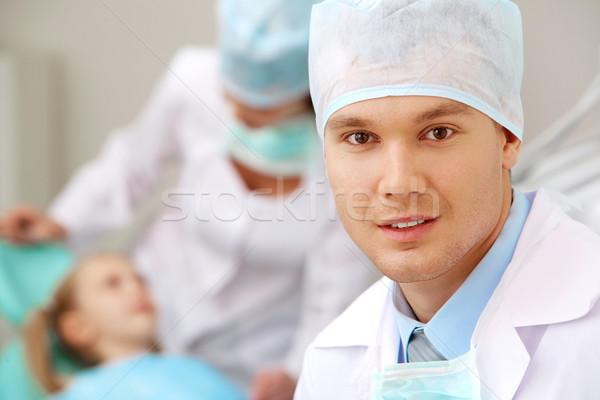 Male dentist Stock photo © pressmaster