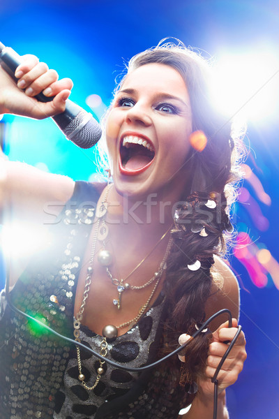 Singer Stock photo © pressmaster