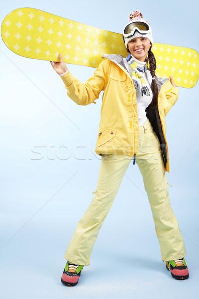 Happy skateboarder Stock photo © pressmaster