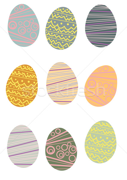 easter-eggs Stock photo © pressmaster