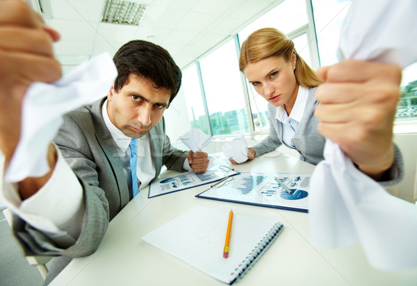 Aggressive managers Stock photo © pressmaster