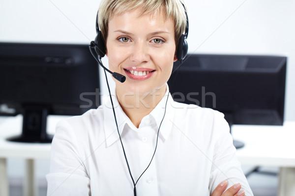 Amiable female secretary Stock photo © pressmaster