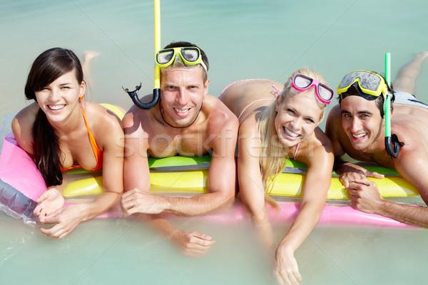 Team of divers  Stock photo © pressmaster