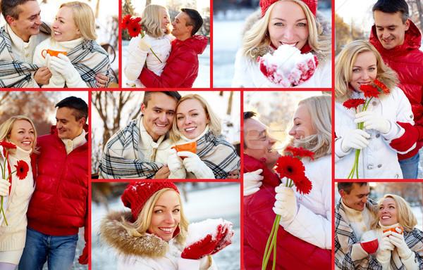 Romantic winter Stock photo © pressmaster