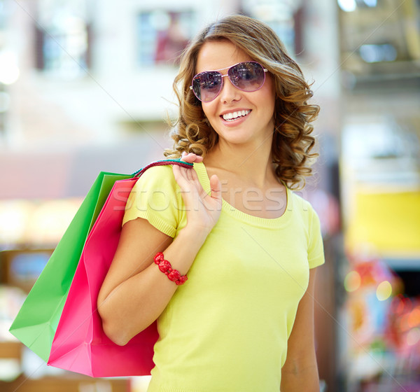 Summer shopper Stock photo © pressmaster