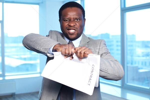 Voiding contract Stock photo © pressmaster