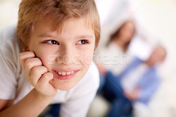 Smiling lad Stock photo © pressmaster