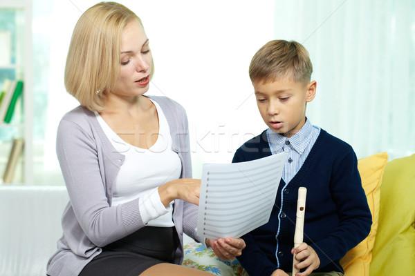 Learning notes Stock photo © pressmaster