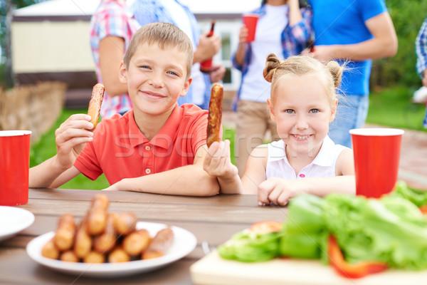 Tasty lunch Stock photo © pressmaster