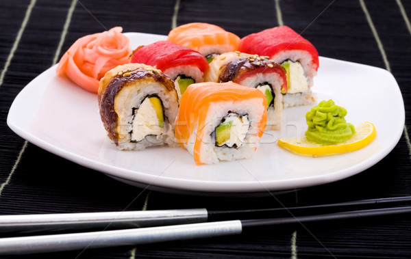 Yapona maki Stock photo © pressmaster