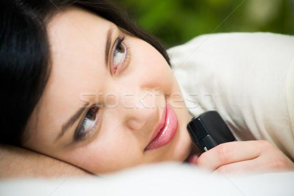 Photo stock: Romantique · humeur · visage · charmant · fille