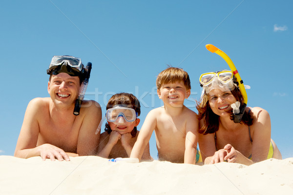 Four divers Stock photo © pressmaster