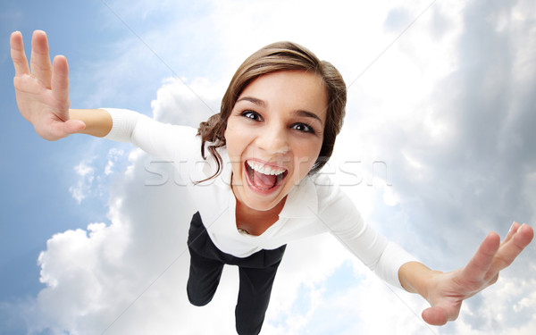 Flying in heaven Stock photo © pressmaster