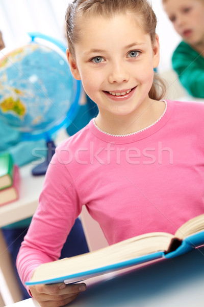 Girl with book Stock photo © pressmaster
