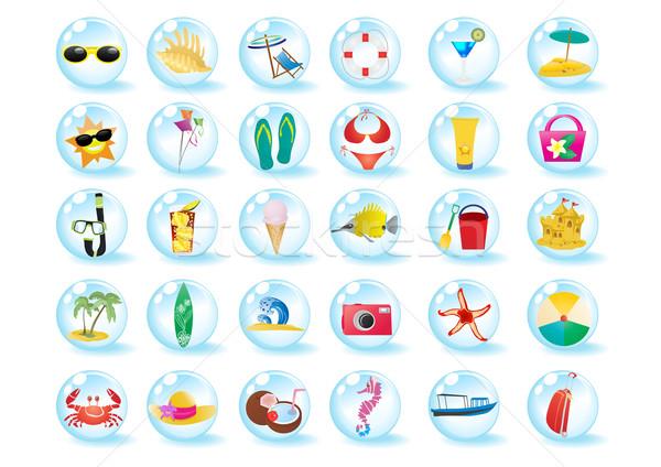 travel-icons    Stock photo © pressmaster