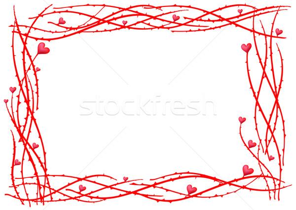 valentine-frame Stock photo © pressmaster