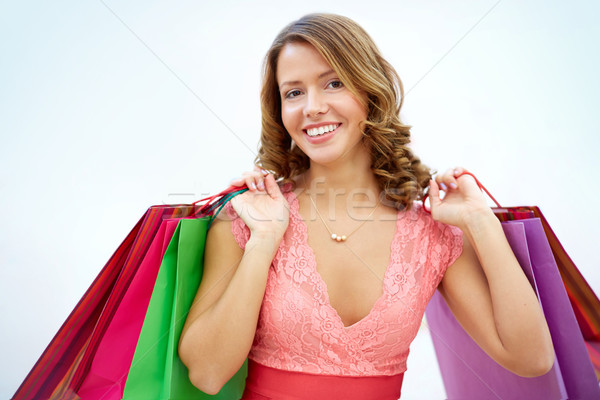 Glamorous shopper Stock photo © pressmaster
