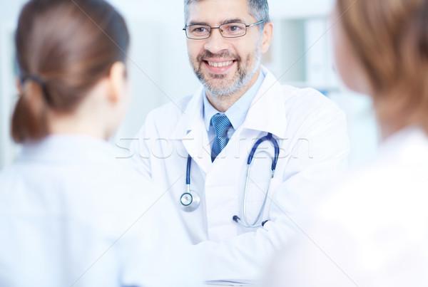 成功した 医師 コンサルティング 女性 娘 ストックフォト © pressmaster