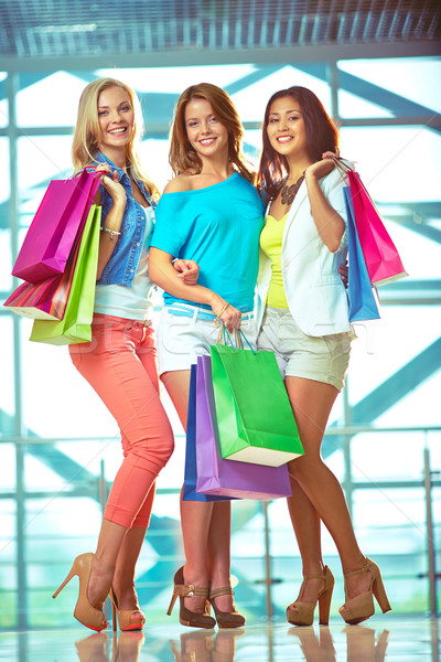 Three shoppers Stock photo © pressmaster